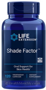 Life Extension Shade Factor