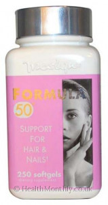 Marlyn Formula 50, Support for Hair & Nails
