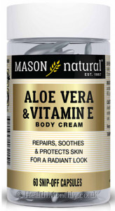 Mason Natural Aloe Vera & Vitamin E Body Cream