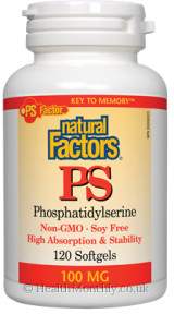 Natural Factors PS Phosphatidylserine