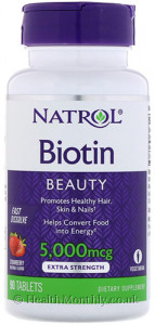 Natrol Biotin Beauty
