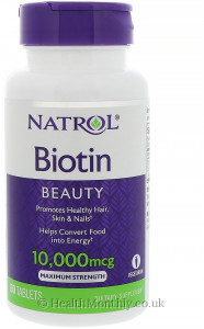 Natrol Maximum Strength Biotin