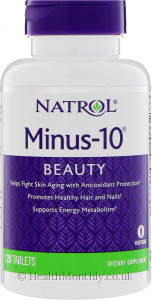 Natrol Minus-10: Cell Rejuvenation