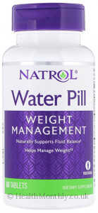 Natrol Water Pill Weight Management