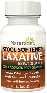 Naturade Stool Softener Laxative