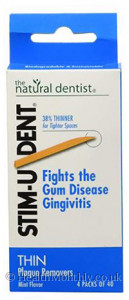 Natural Dentist Stim-U-Dent Plaque Removers