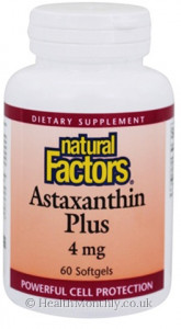 Natural Factors Astaxanthin Plus