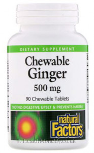 Natural Factors Chewable Ginger