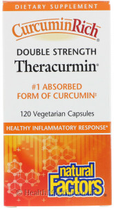 Natural Factors CurcuminRich Theracurmin Double Strength