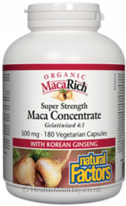 Natural Factors MacaRich Maca Concentrate
