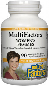 Natural Factors MultiFactors Women's Femmes