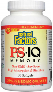Natural Factors PS IQ Memory
