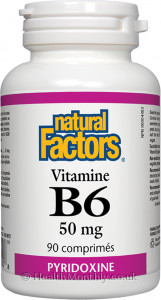 Natural Factors Vitamin B6
