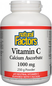 Natural Factors Vitamin C Calcium Ascorbate