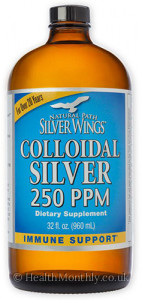 Natural Path Silver Wings Colloidal Silver 500 PPM
