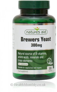 Natures Aid Brewers Yeast
