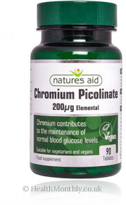 Natures Aid Chromium Picolinate