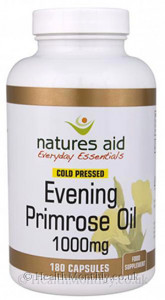 Natures Aid Cold Pressed Evening Primrose Oil