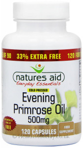Natures Aid Evening Primrose Oil