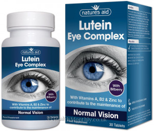 Natures Aid Lutein Eye Complex