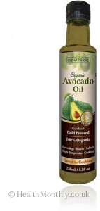 Natures Aid Organic Avocado Oil