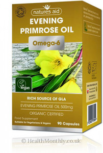Natures Aid Evening Primrose Oil Omega-6