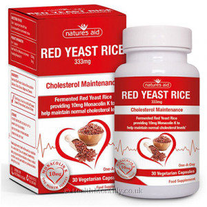 Natures Aid Red Yeast Rice
