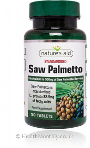 Natures Aid Saw Palmetto