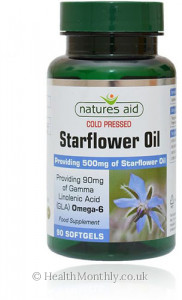 Natures Aid Starflower Oil with Vitamin E