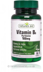 Natures Aid Vitamin B6, High Potency