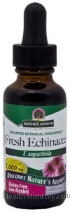 Nature's Answer Fresh Echinacea Organic Alcohol Extract