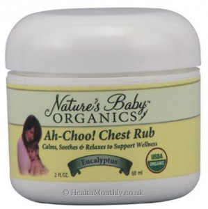 Nature's Baby Organics Ah-Choo! Chest Rub