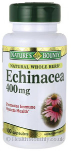 Nature's Bounty Natural Whole Herb Echinacea