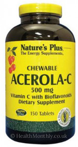 Nature's Plus Acerola-C Complex