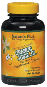 Nature's Plus Orange Juice Jr. Vitamin C