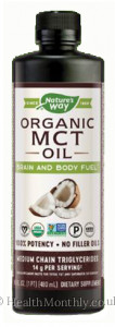 Nature's Way 100% MCT Oil