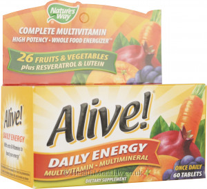 Nature's Way Alive! Daily Energy Complete Multivitamin