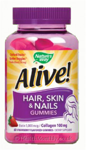 Nature's Way Alive! Hair, Skin and Nails Gummies