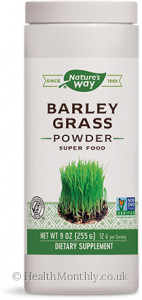 Nature's Way Barley Grass Bulk Powder