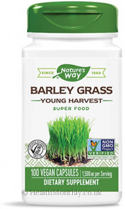 Nature's Way Barley Grass Young Harvest Super Food