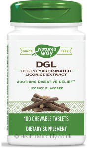 Nature's way DGL Deglycyrrhizinated