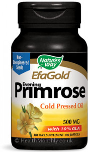 Nature's Way EfaGold Evening Primrose Cold Pressed Oil