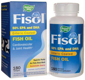 Nature's Way Fisol 50% EPA/DHA Fish Oil