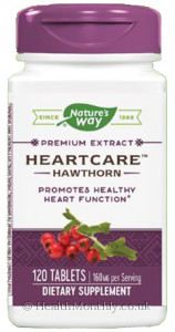Nature's Way Heartcare Hawthorn Premium Extract