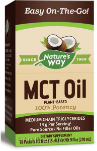 Nature's Way MCT Oil, Single-Serve