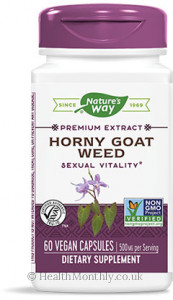 Nature's Way Premium Extract Horny Goat Weed