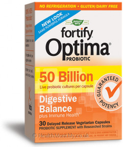 Nature's Way Primadophilus Optima Digestive Balance 50B
