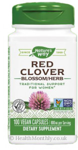 Nature's Way Red Clover Blossom Herb