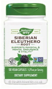 Nature's Way Siberian Eleuthero Root