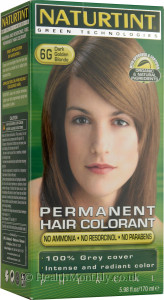 Naturtint Permanent Natural Hair Colour 6G